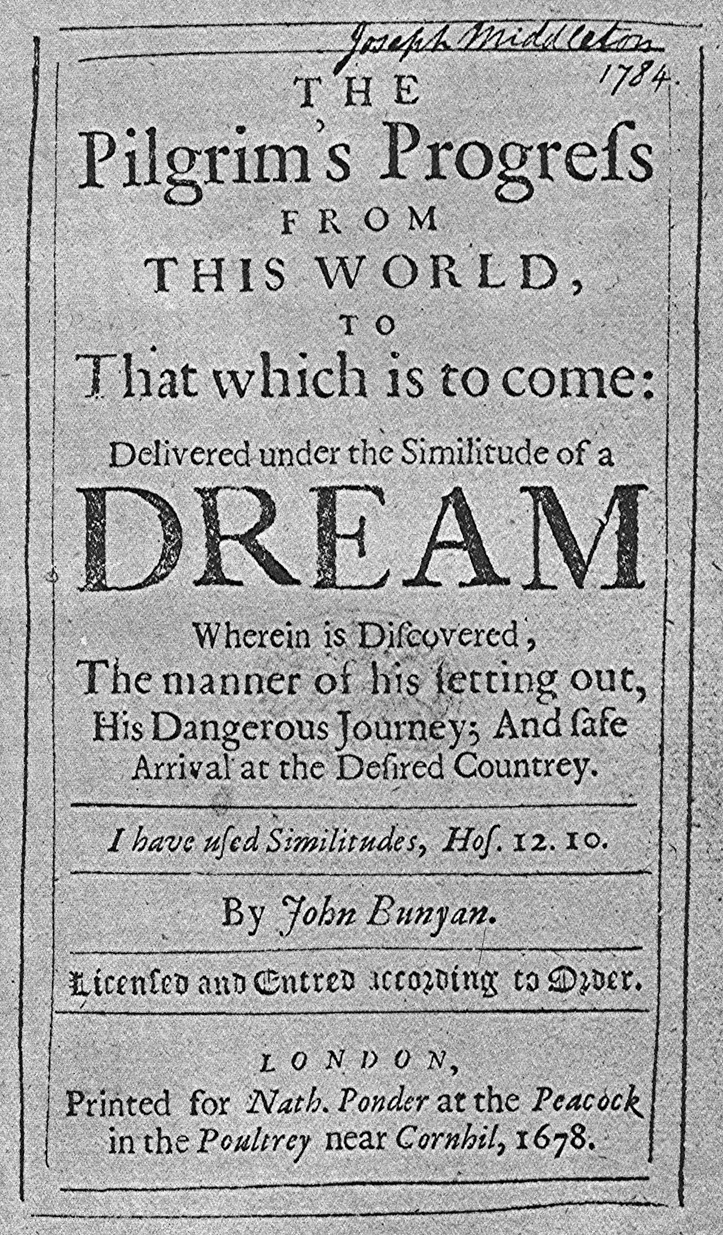 The Pilgrim's Progress   Wikipedia