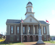 Chatham County Courthouse in Pittsboro