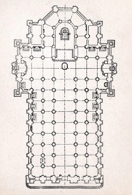 File Plan Of The Milan Cathedral Png Wikimedia Commons