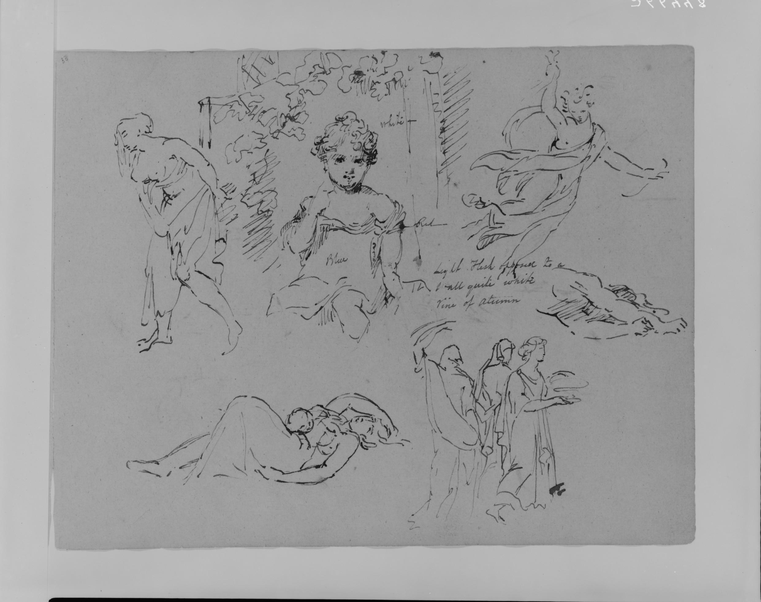 Flower Child Line Drawing : File portrait of girl in flower bower walking draped female