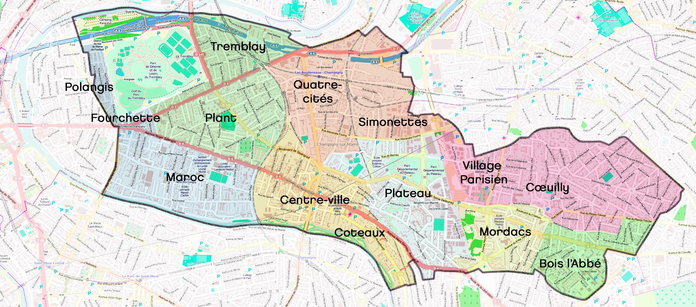 Villiers Sur Marne Centre Ville