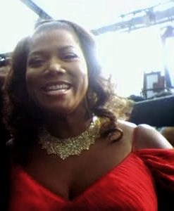 English: Queen Latifah on the GRAMMY Red Carpet