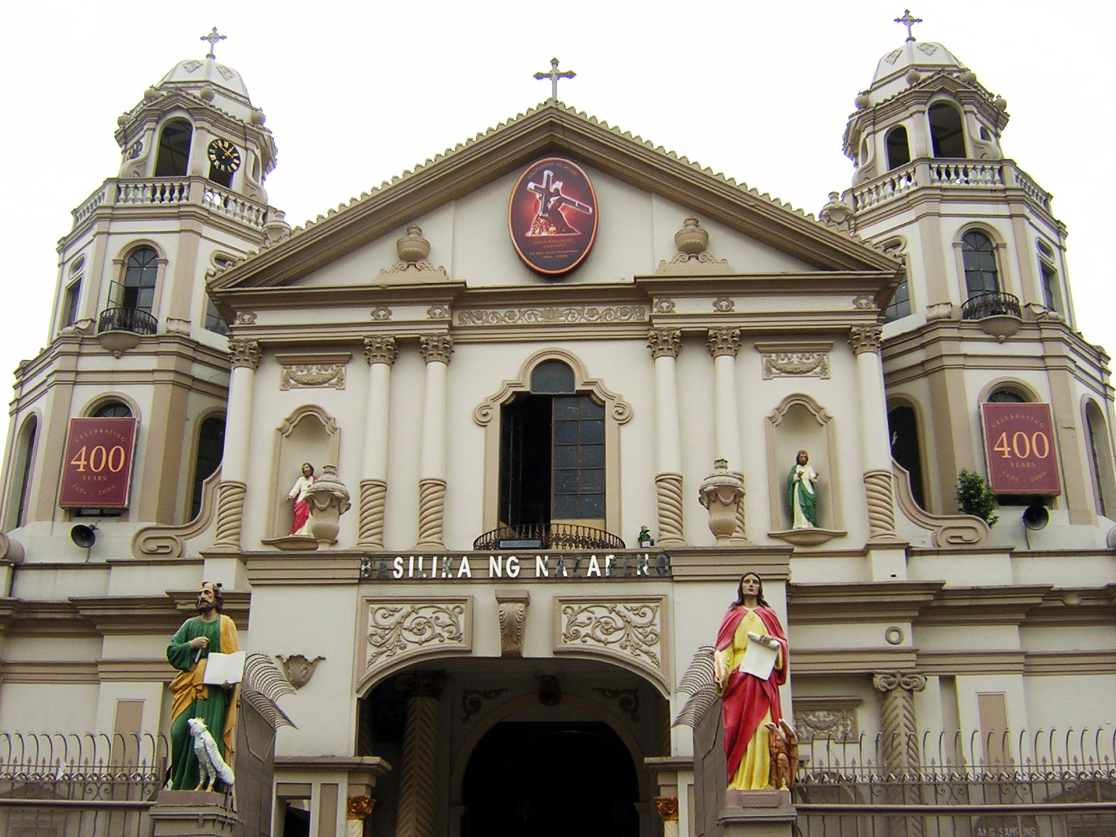 Catholic church in the philippines wikipedia quiapo church the basilica minore of the nazarene is home of the statue of the black nazarene which is the focus of widespread popular devotion in the biocorpaavc Gallery