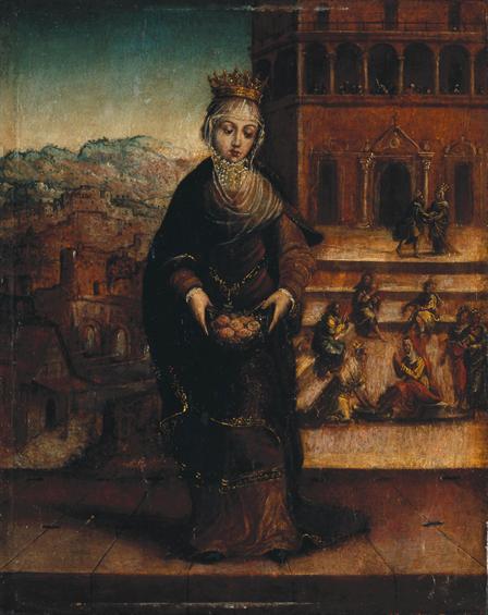 Arquivo: Rainha Santa Isabel, um Milagre das Rosas - 1540.jpg