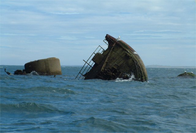 Remains of a steamer - geograph.org.uk - 1162524.jpg