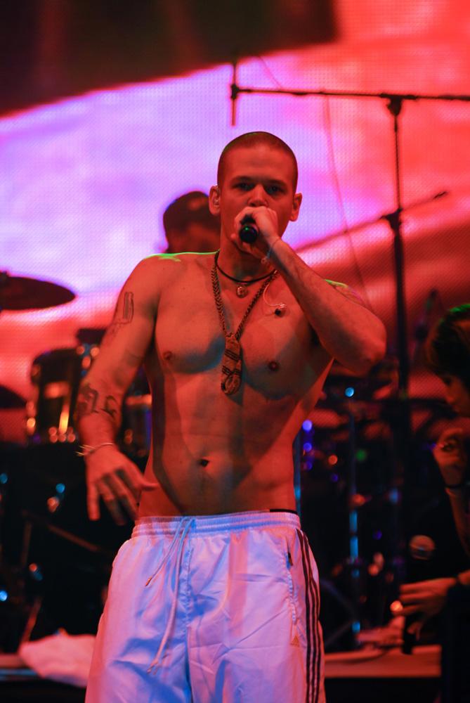Residente en el Festival Afrocaribeño de 2009.