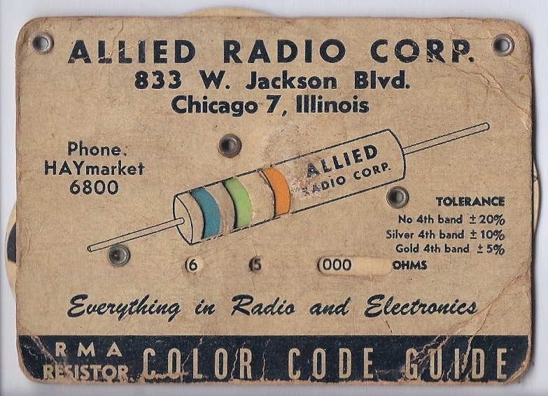 Electronic Color Code  Wikipedia