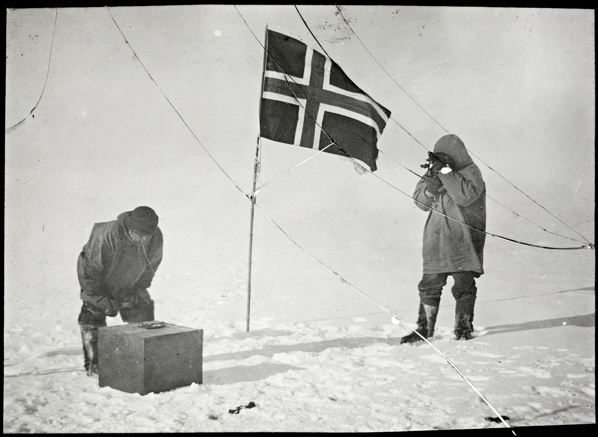 amundsen sydpolen