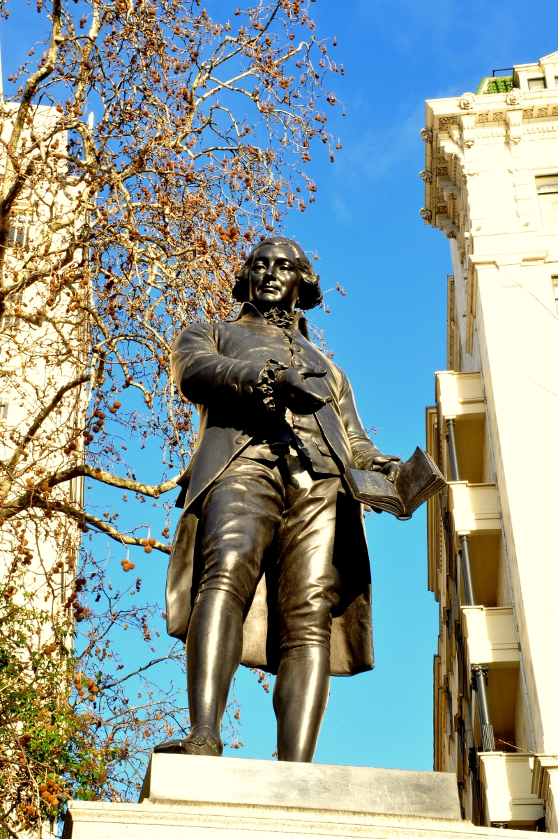 File Robert Raikes Victoria Embankment Gardens London Jpg