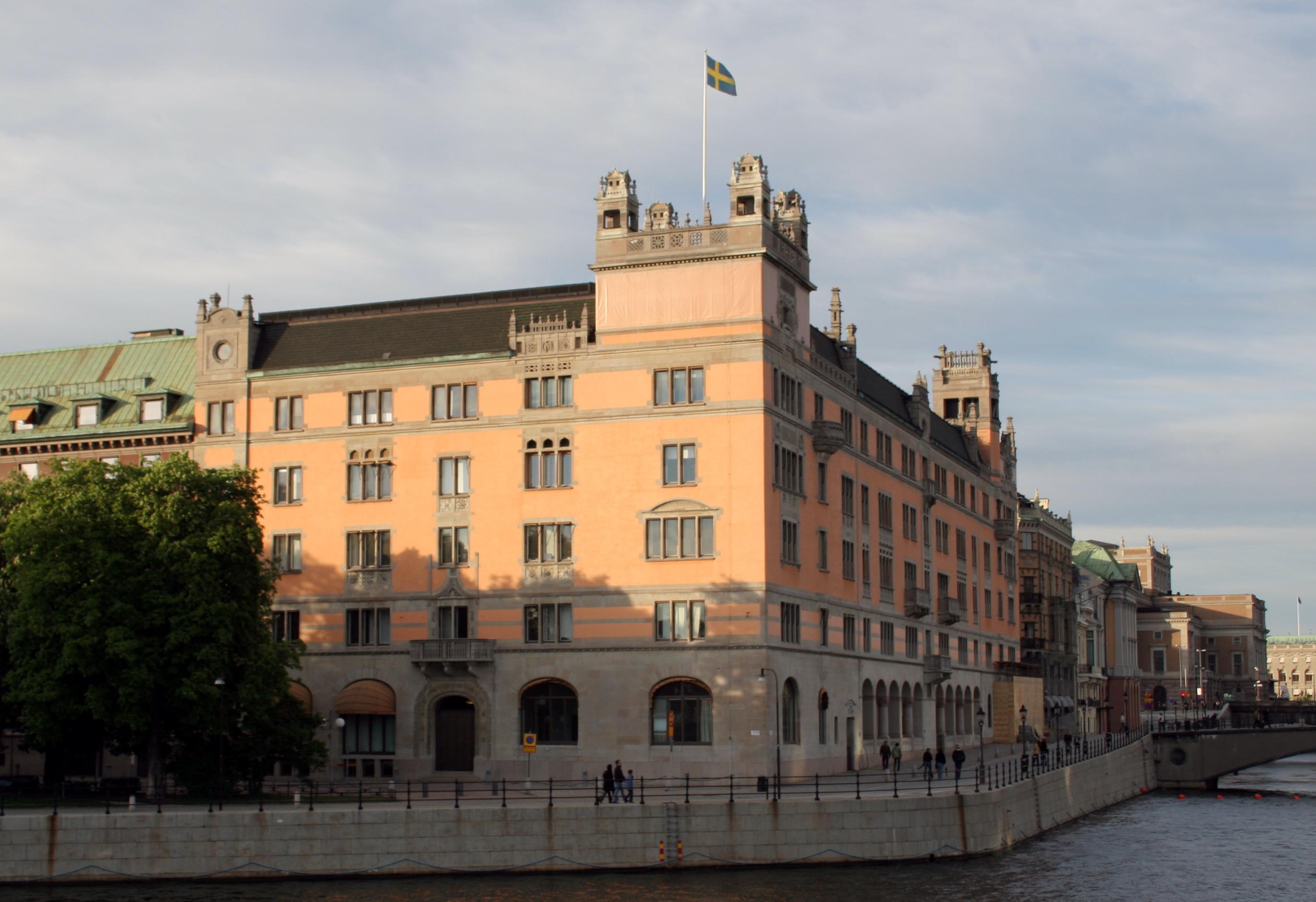 Rosenbad, Stockholm, Sweden. The house of the ...