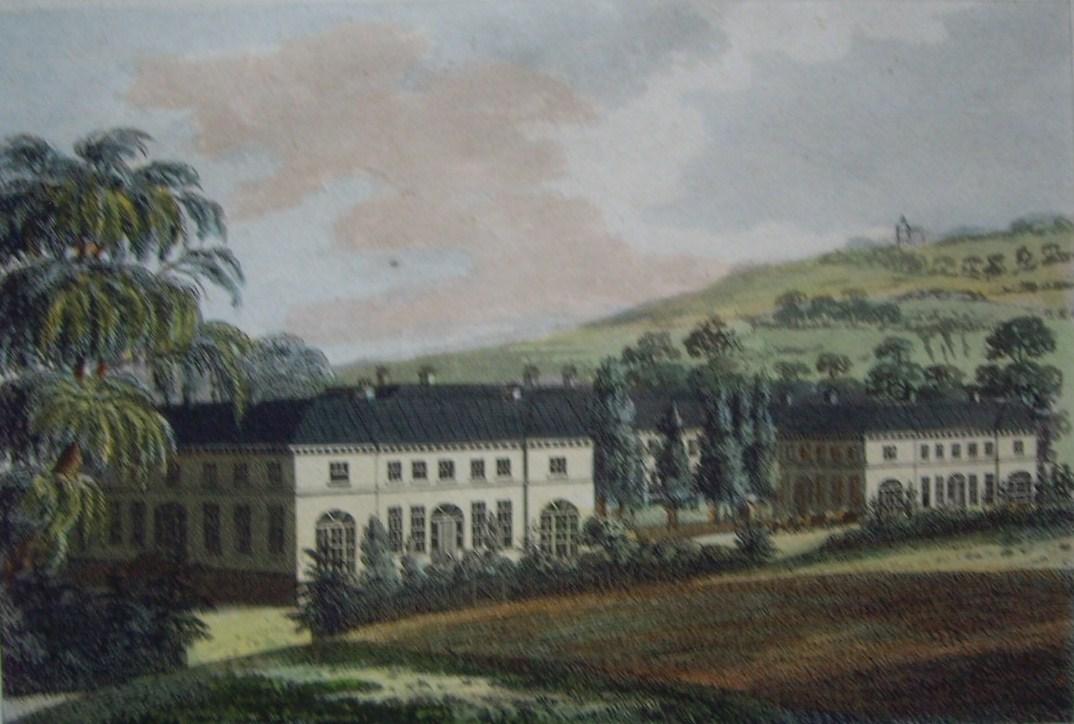 Royal Artillery Hospital, engraving inscribed to John Rollo