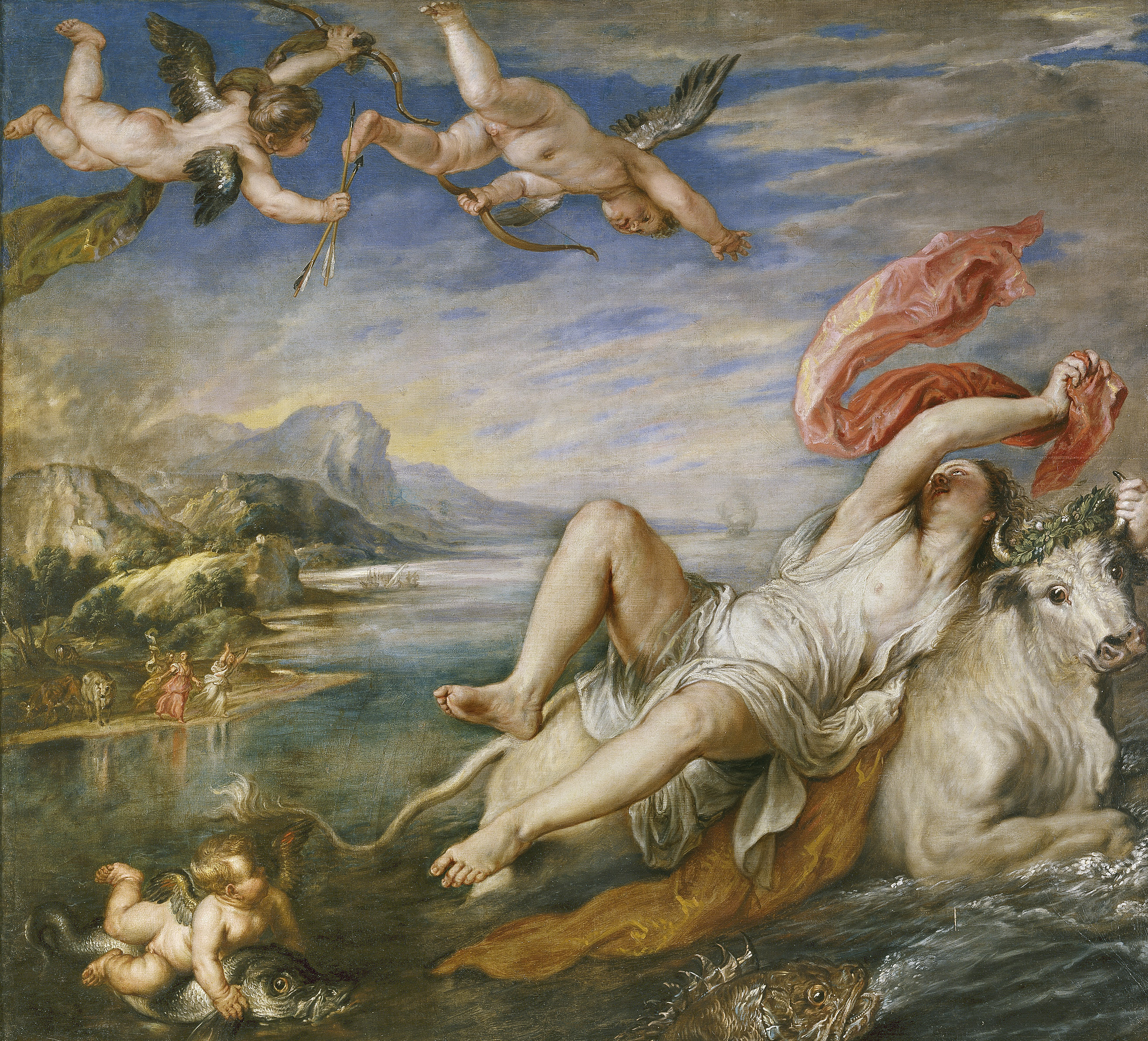 Rubens, The rape of Europa