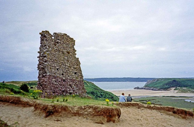 Ruins of Pennard Castle - geograph.org.uk - 70556