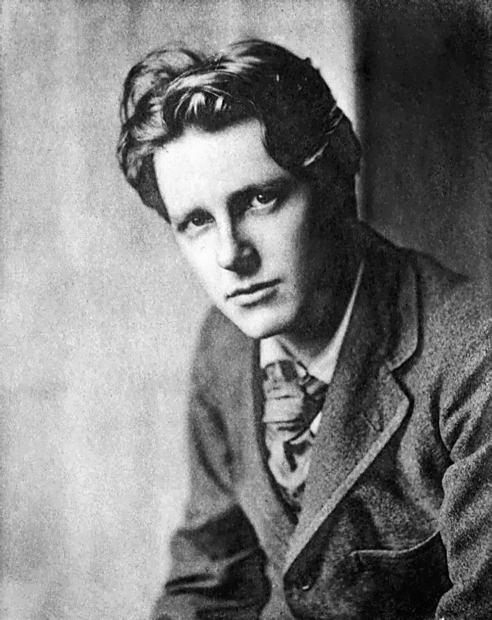 the better war poet rupert brooke Who was the better war poet, rupert brooke wwi romantic jingoism) or emily dickinson answer: very far from dickinson's best poems rupert brooke.