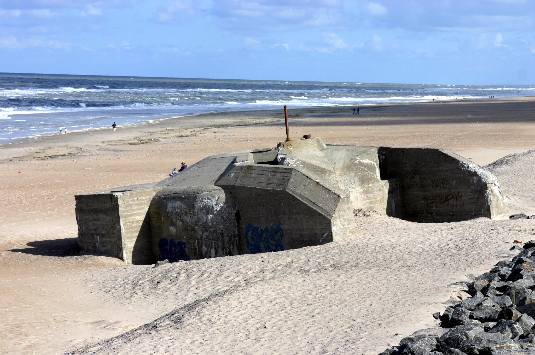 Bunker Atlantikwall Karte.Bestand Sondervig Denmark Deutsche Bunker Atlantikwall