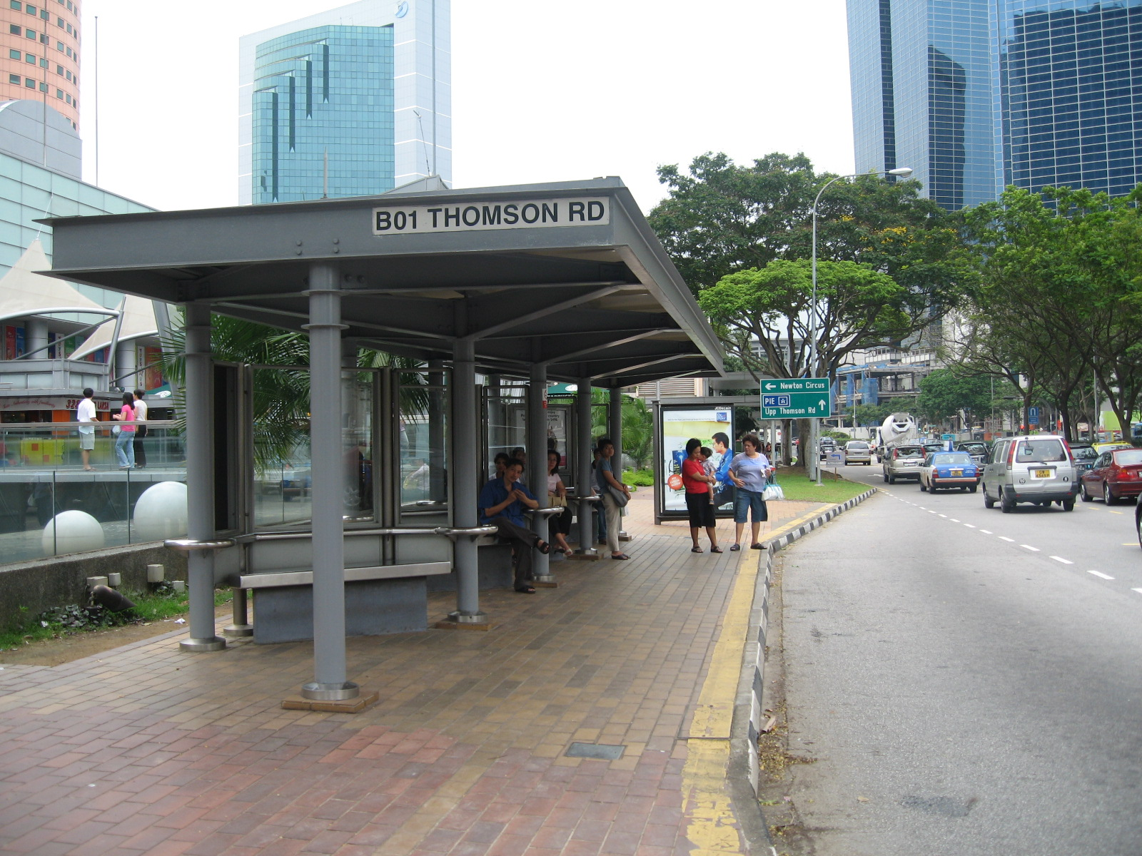 Bus Stop And Buses On Pinterest