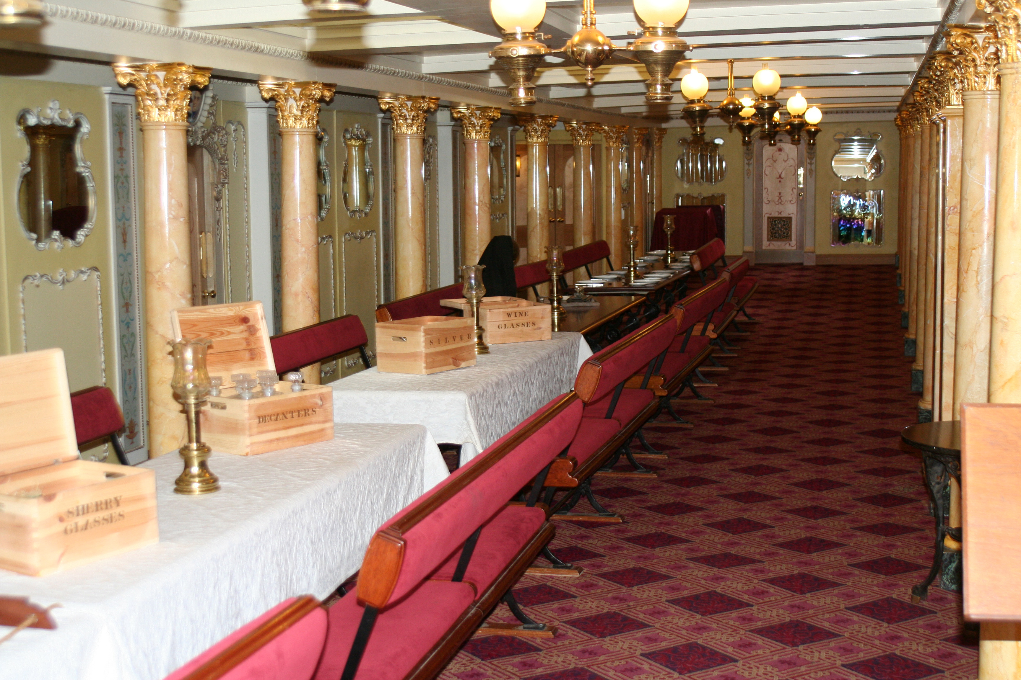 Ss Leviathan Dining Room