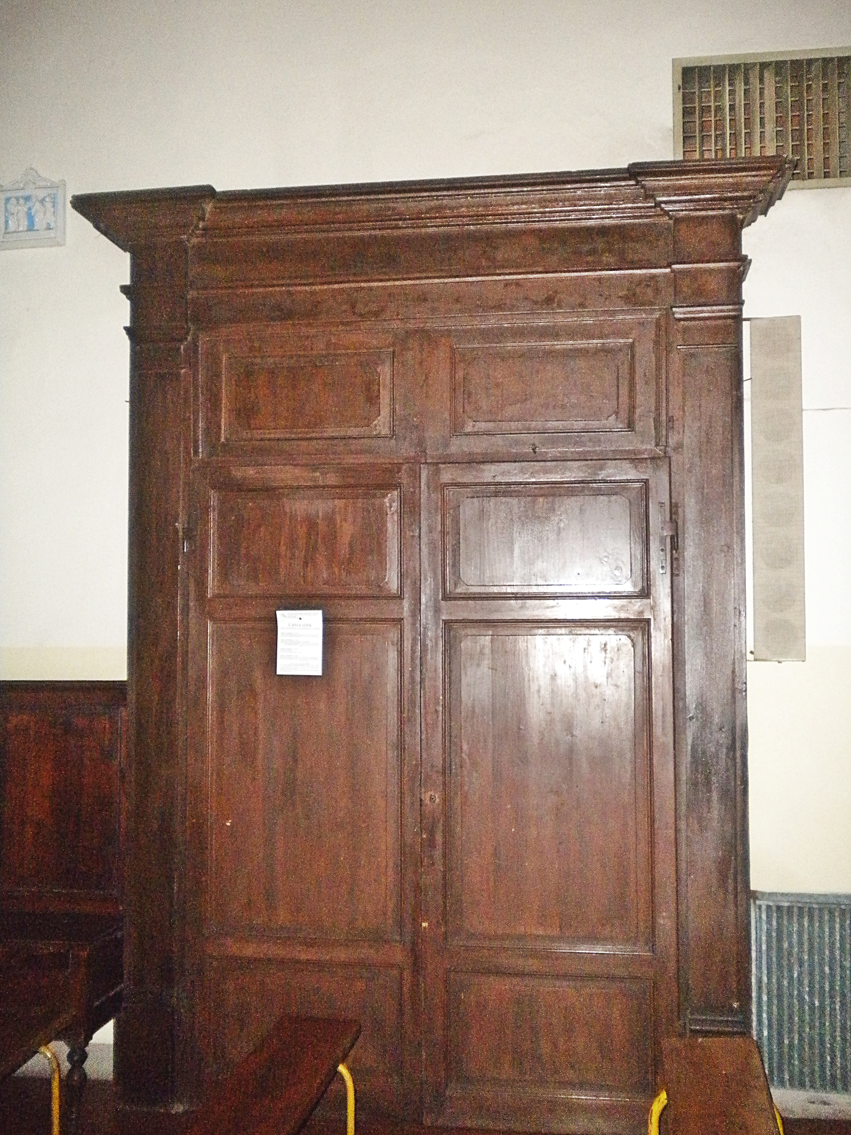 File:San Pietro A Grignano   Old Church (Interior) Door