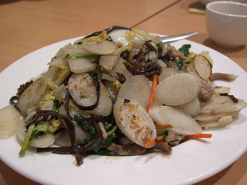 Shanghai Nian gow Year cake (年糕)