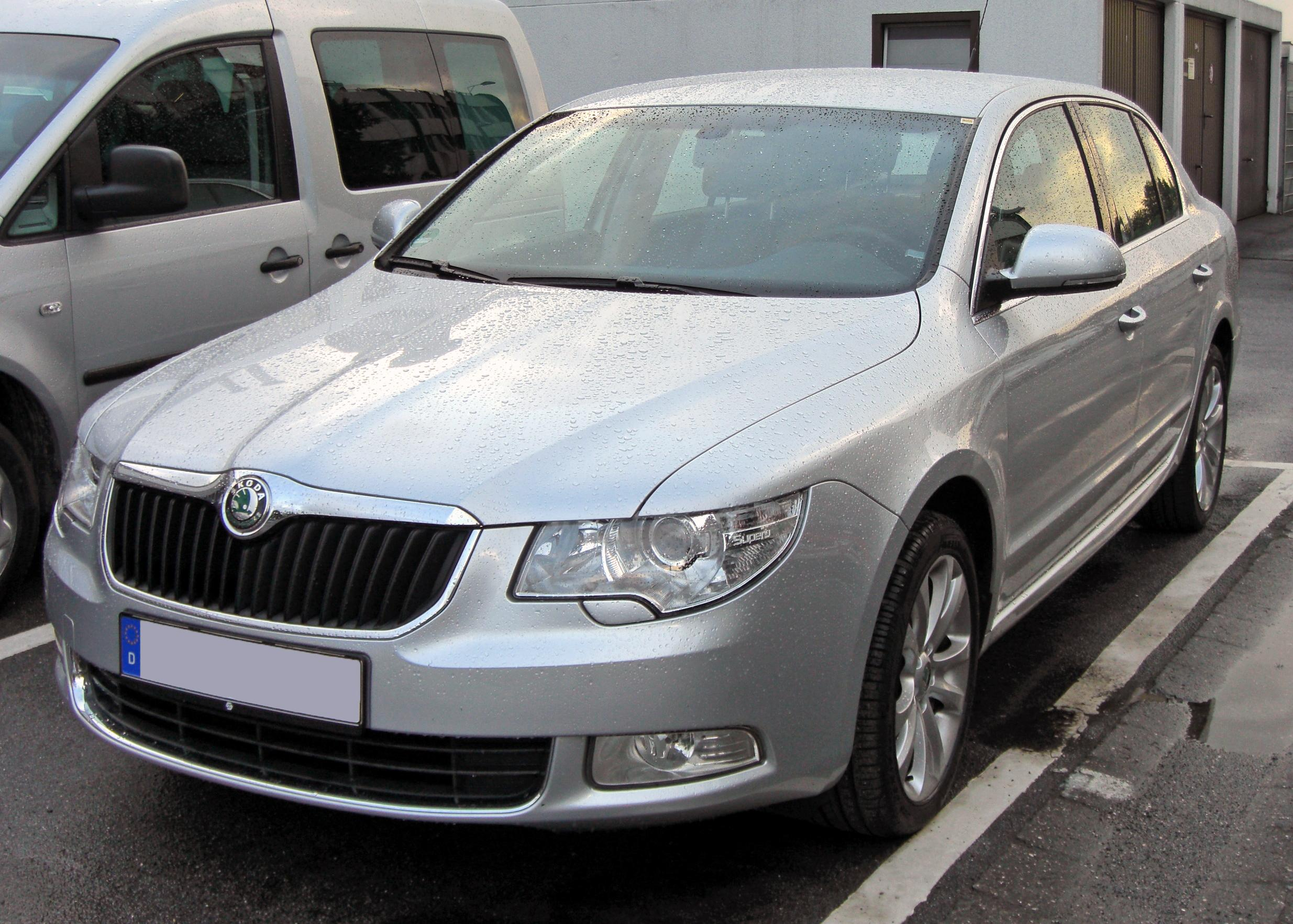 File Skoda Superb Ii 20090611 Front Jpg