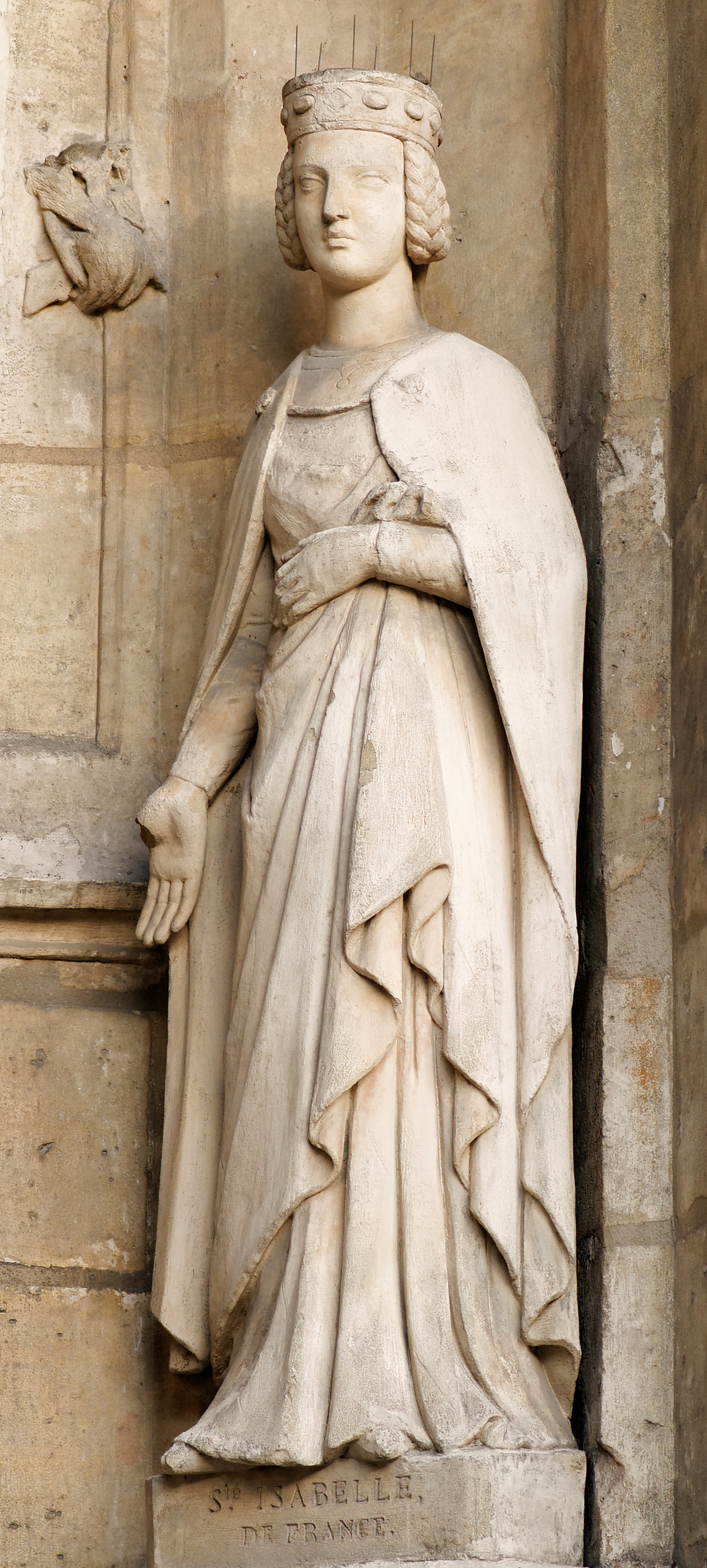 File:St. Isabel of France Saint-Germain l'Auxerrois.jpg ...