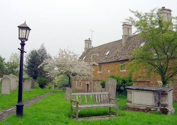 St Andrew's Churchyard, Lyddington - geograph.org.uk - 494903