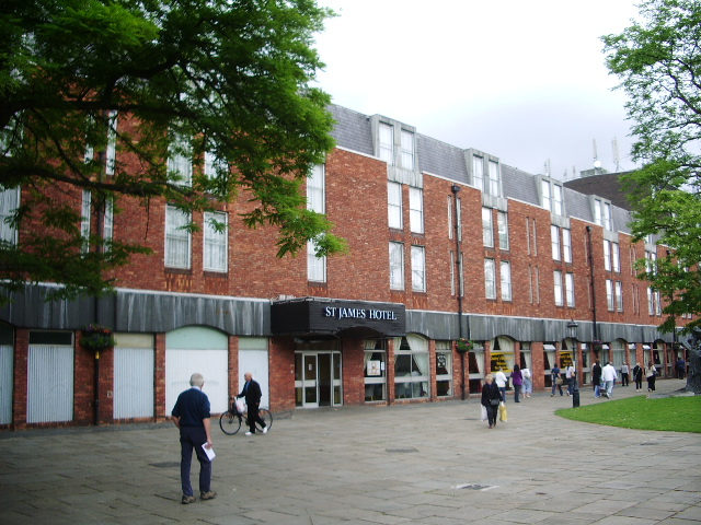 File St James Hotel Grimsby Geograph Org Uk 858937 Jpg