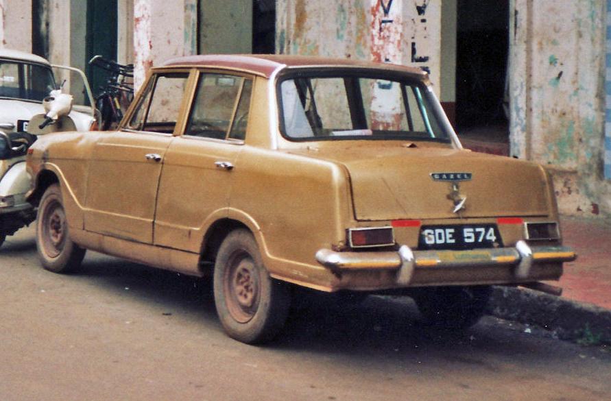 File:Standard Gazel (4-door Triumph Herald derivative) built in ...