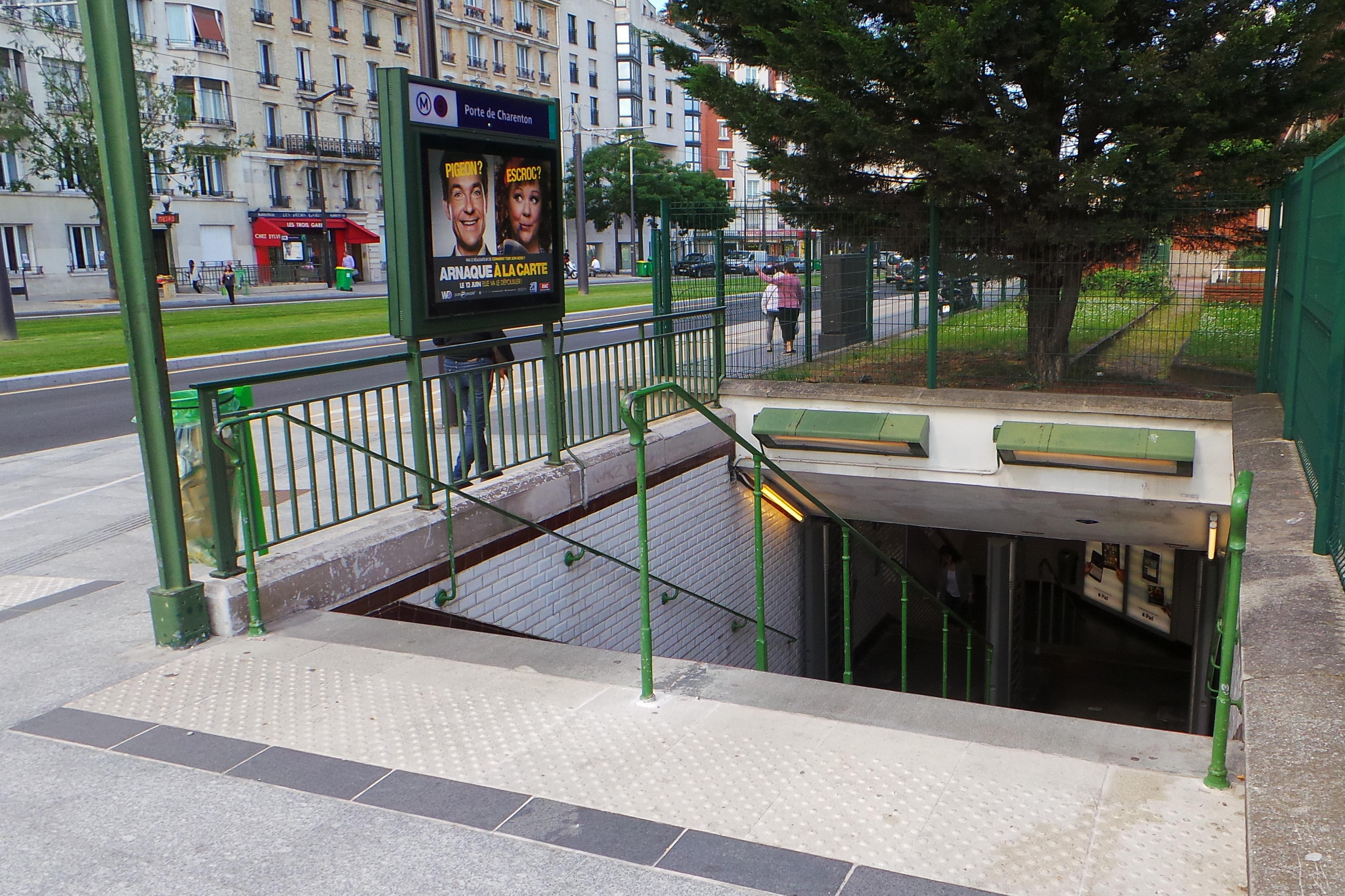 File station m tro porte de charenton 20130606 171455 - Porte de charenton metro ...