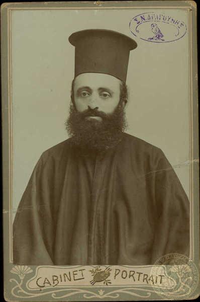 Stavros Tsamis greek revolutionary and priest from Pisoder
