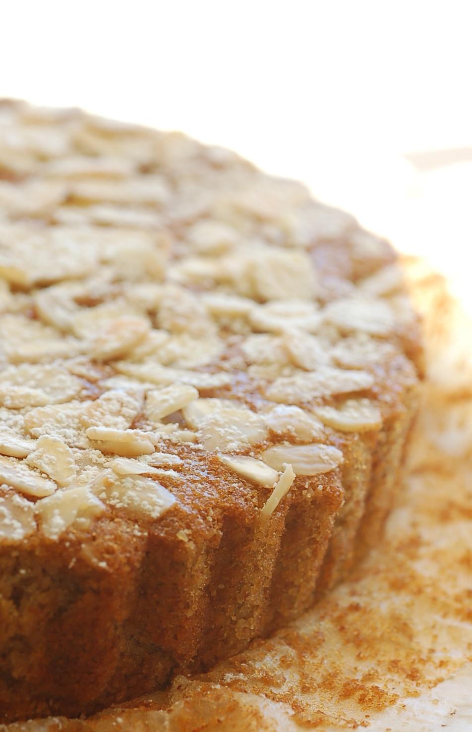 Almond Pear Cake Gluten Free