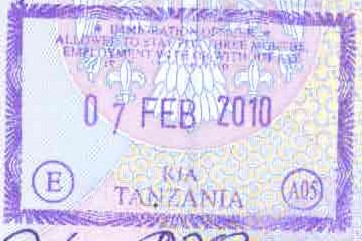 Visa policy of Tanzania - Wikipedia