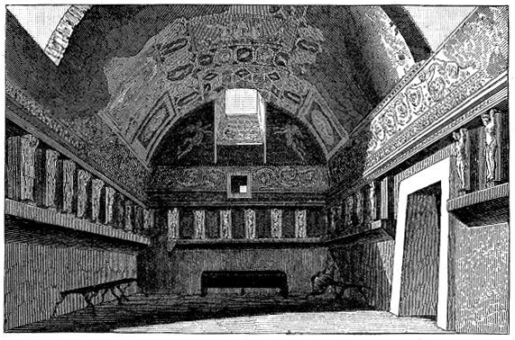 ファイル:Tepidarium of the Old Baths at Pompeii by Overbeck.png