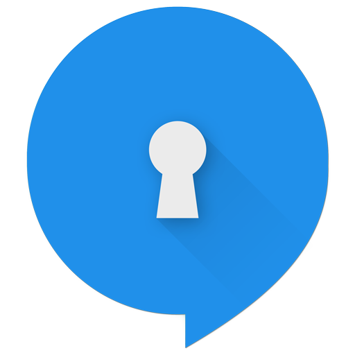 TextSecure Blue Icon