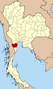 ペッチャブリー県の位置