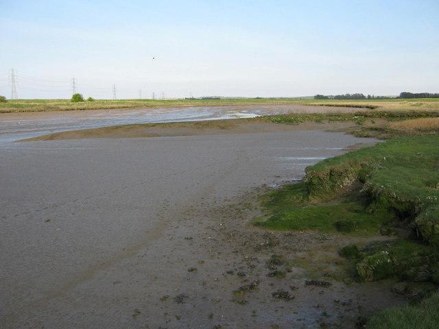 The Faversham Creek at lowtide - geograph.org.uk - 1268851