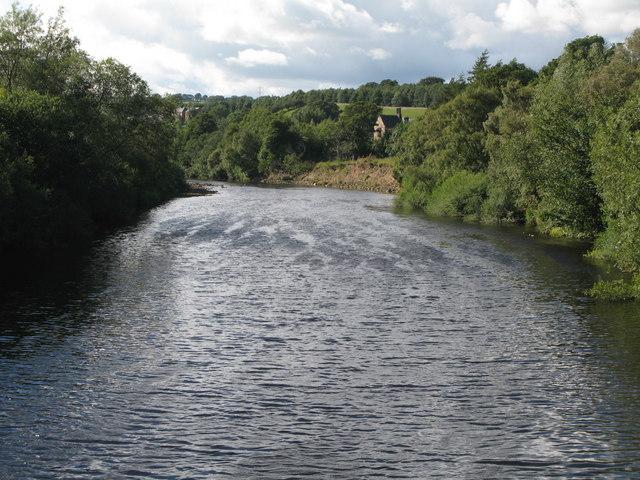 The River South Tyne near Bardon Mill - geograph.org.uk - 2041734