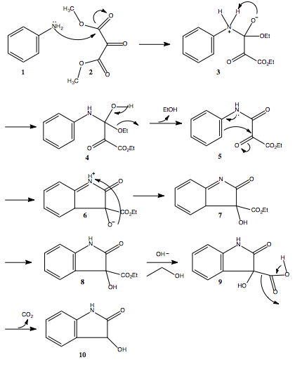 Decarboxylation Ring Closing Mechanism