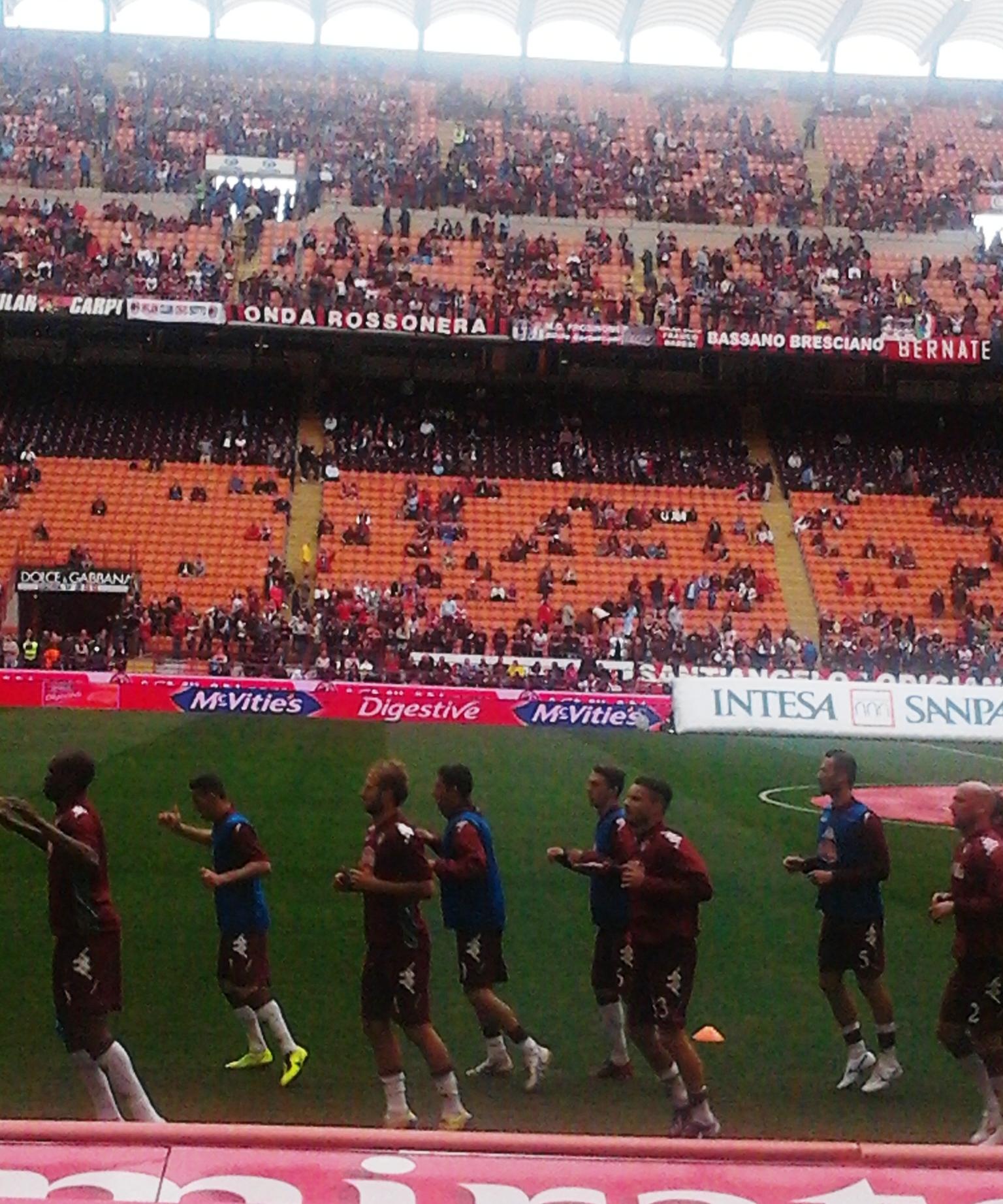Image result for Torino vs AC Milan