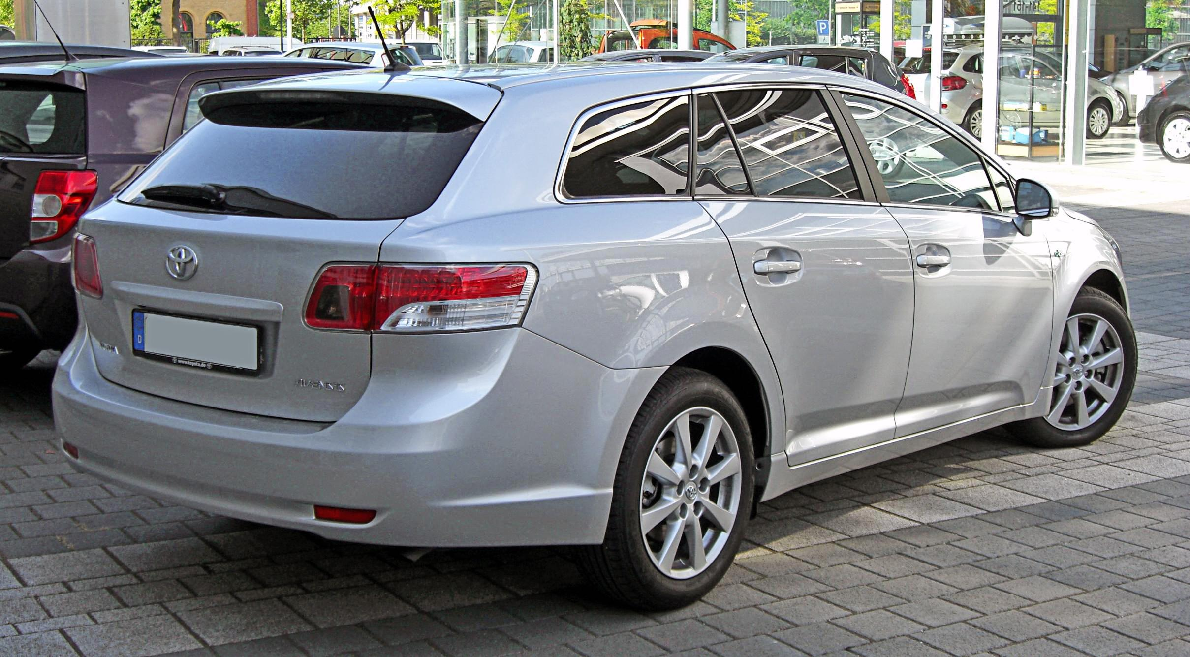 fichier toyota avensis iii combi 20090531 rear jpg wikip dia. Black Bedroom Furniture Sets. Home Design Ideas