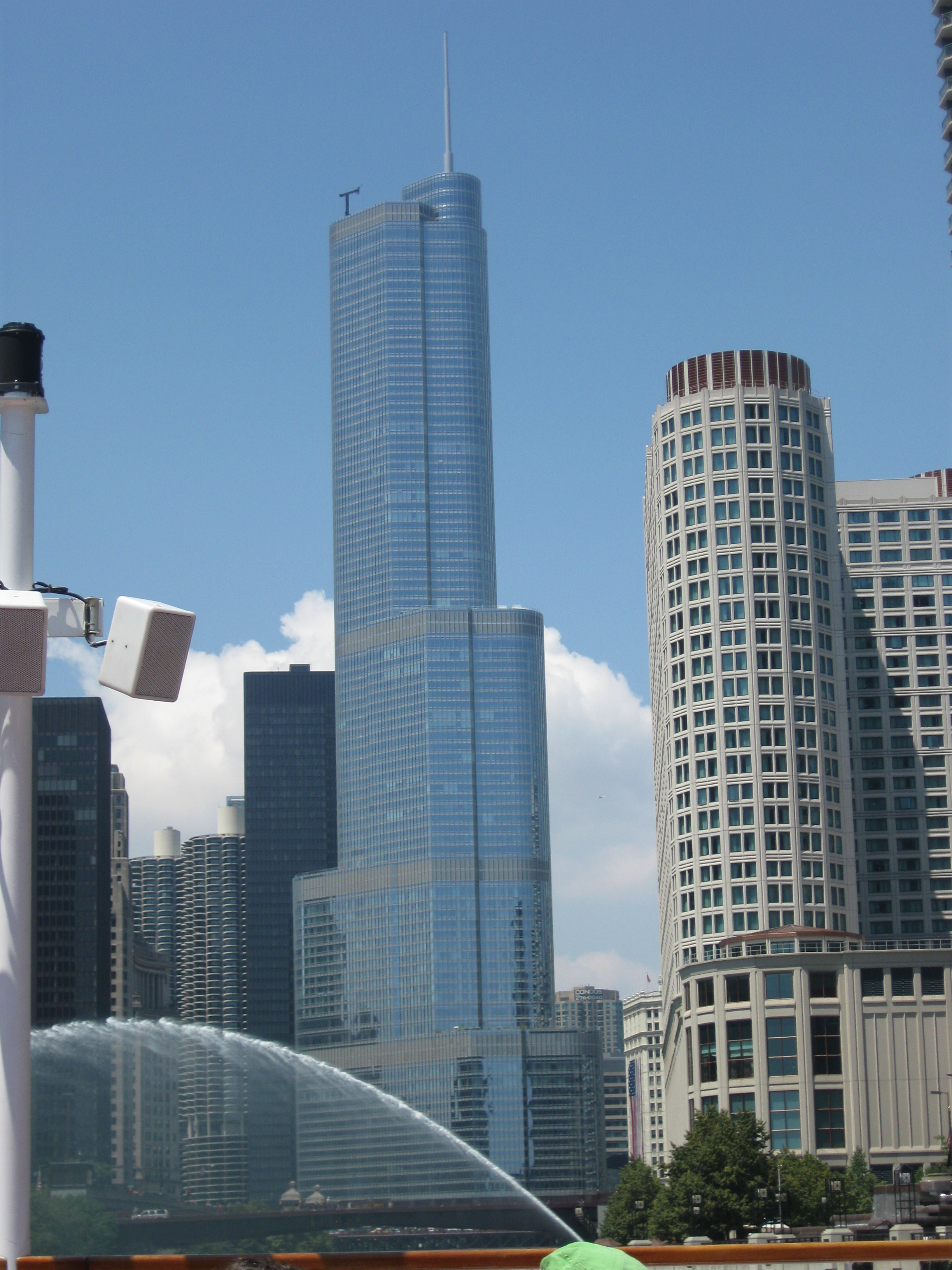 Trump international hotel and tower chicago for Hotell chicago