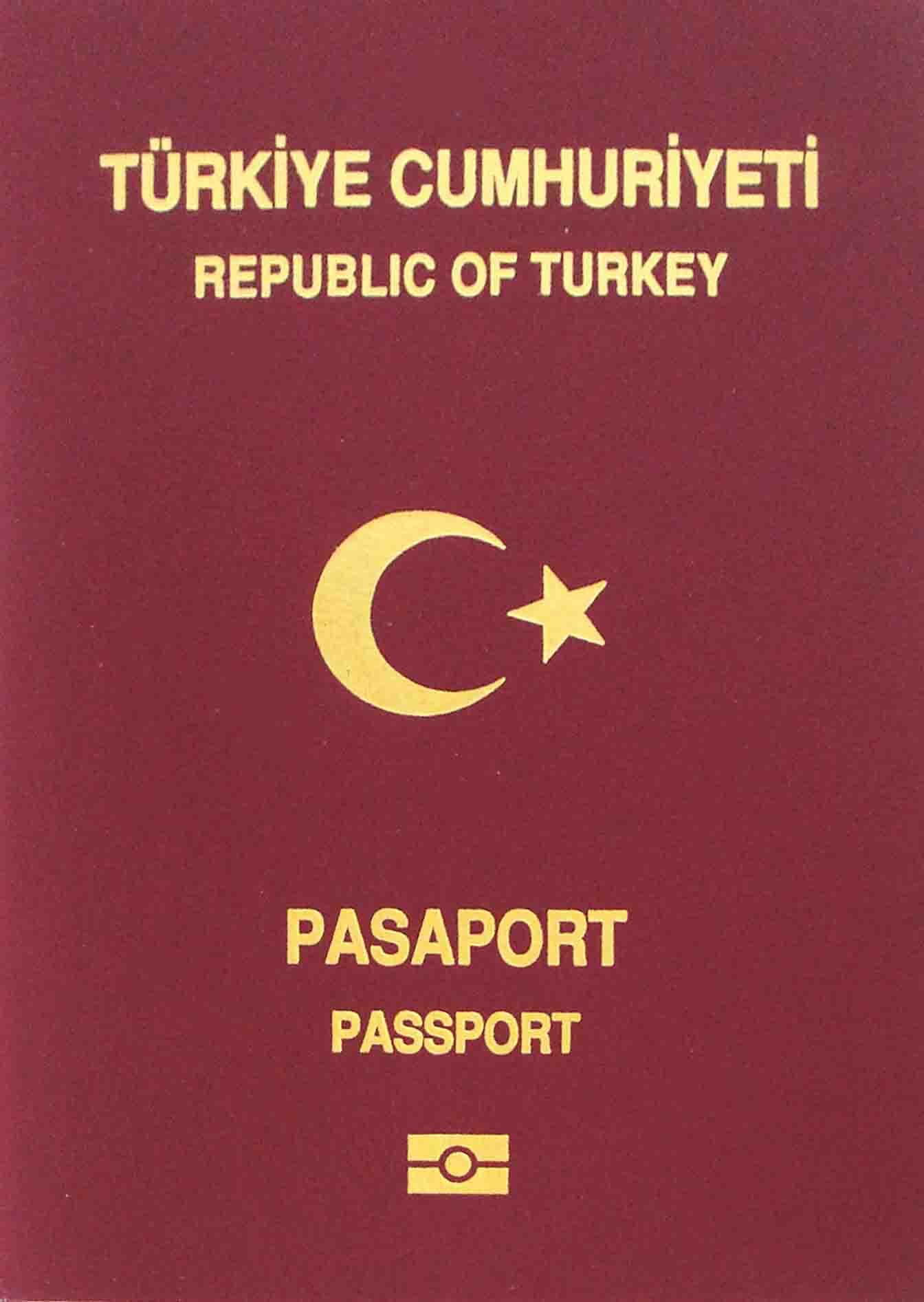 Turkish passport - Wikipedia