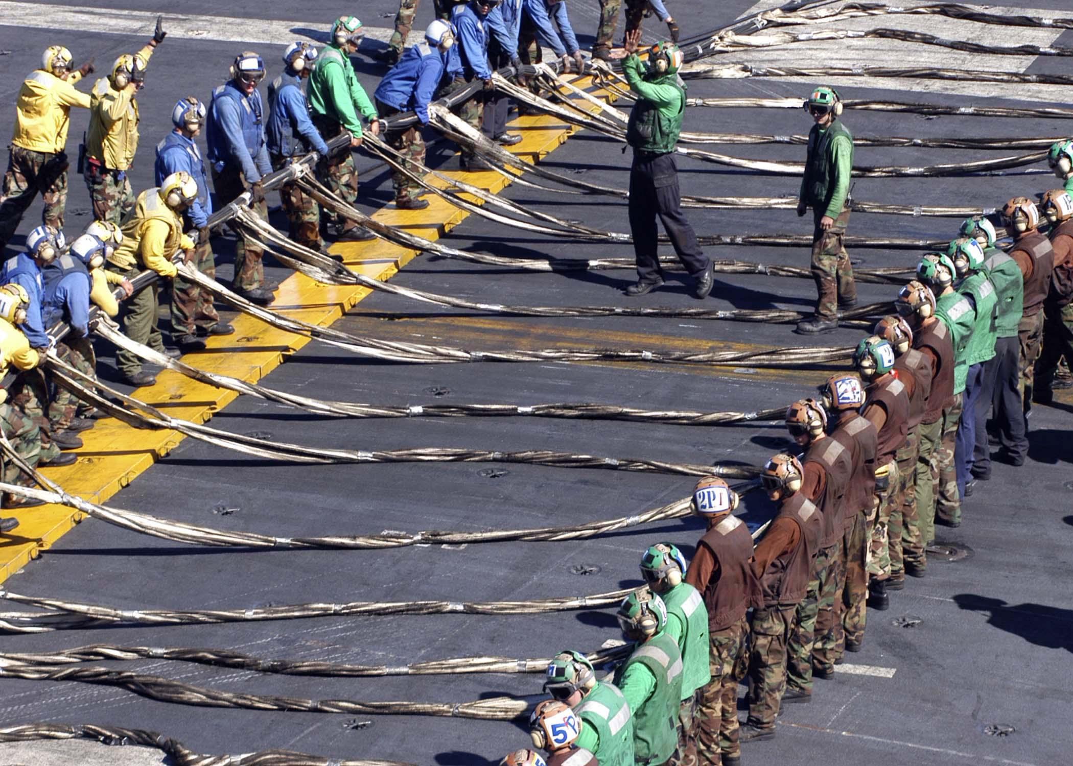 File:US Navy 041118-N-5837R-111 Crew members aboard the Nimitz ...