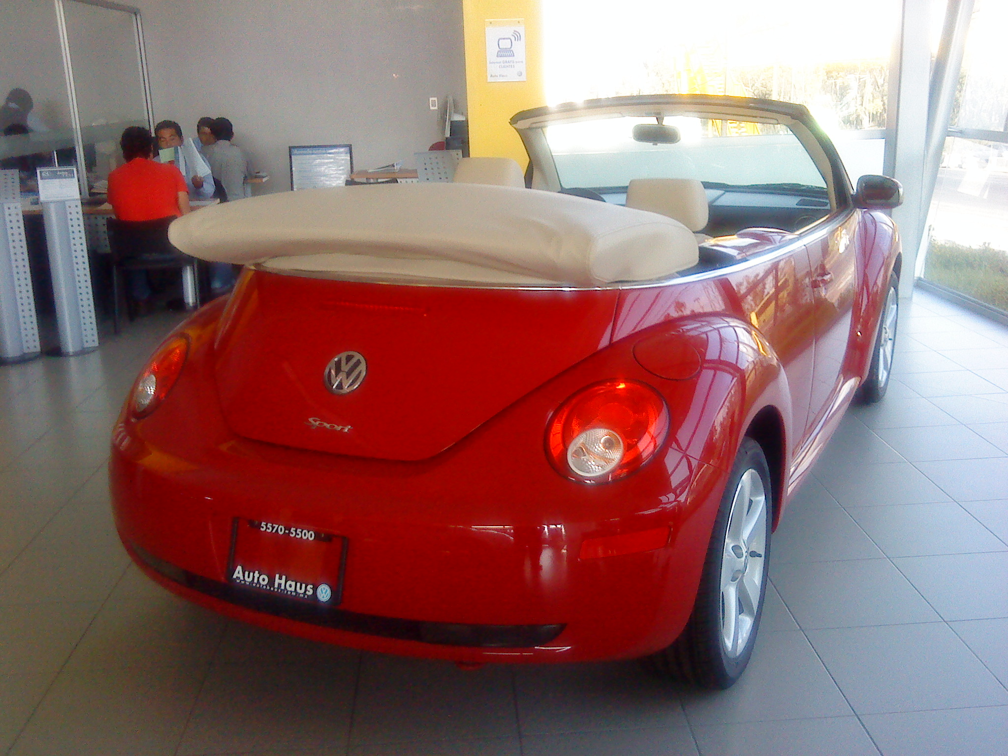 file vw new beetle cabriolet 2009 jpg wikimedia commons. Black Bedroom Furniture Sets. Home Design Ideas