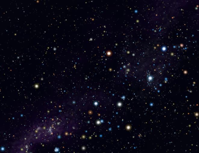 Vela/Carina Stars