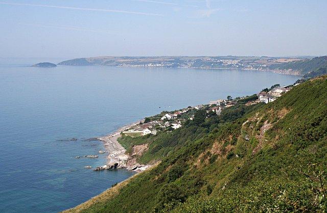 File:View from Batten Cliffs, Looe Bay - geograph.org.uk - 203750.jpg