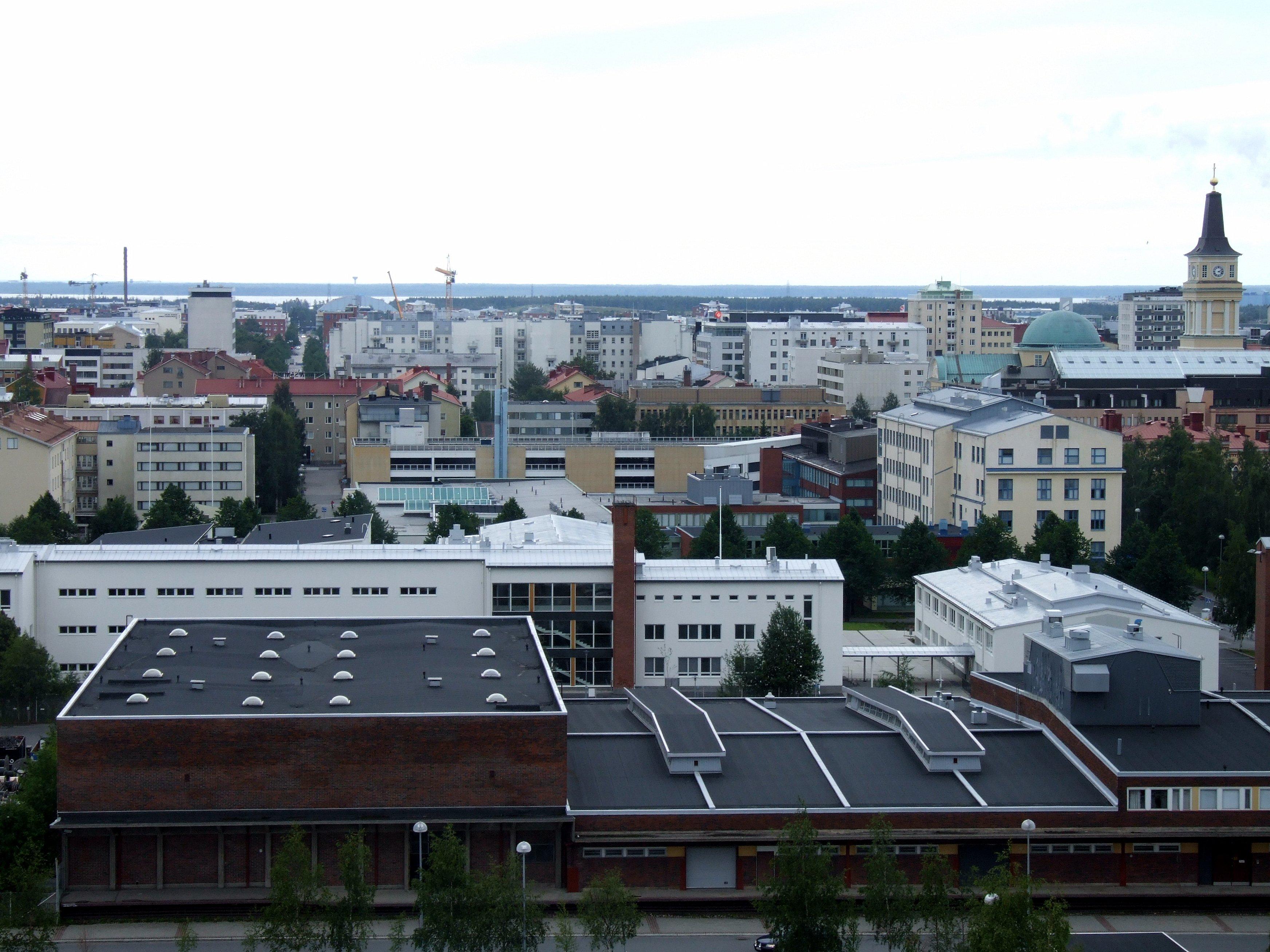 Keskustan Suuralue Oulu Wikipedia