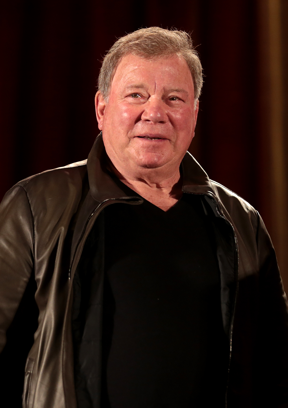 Il 87-anni, 177 cm alto William Shatner in 2018 photo