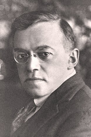 Ze'ev Jabotinsky, founder of Revisionist Zionism