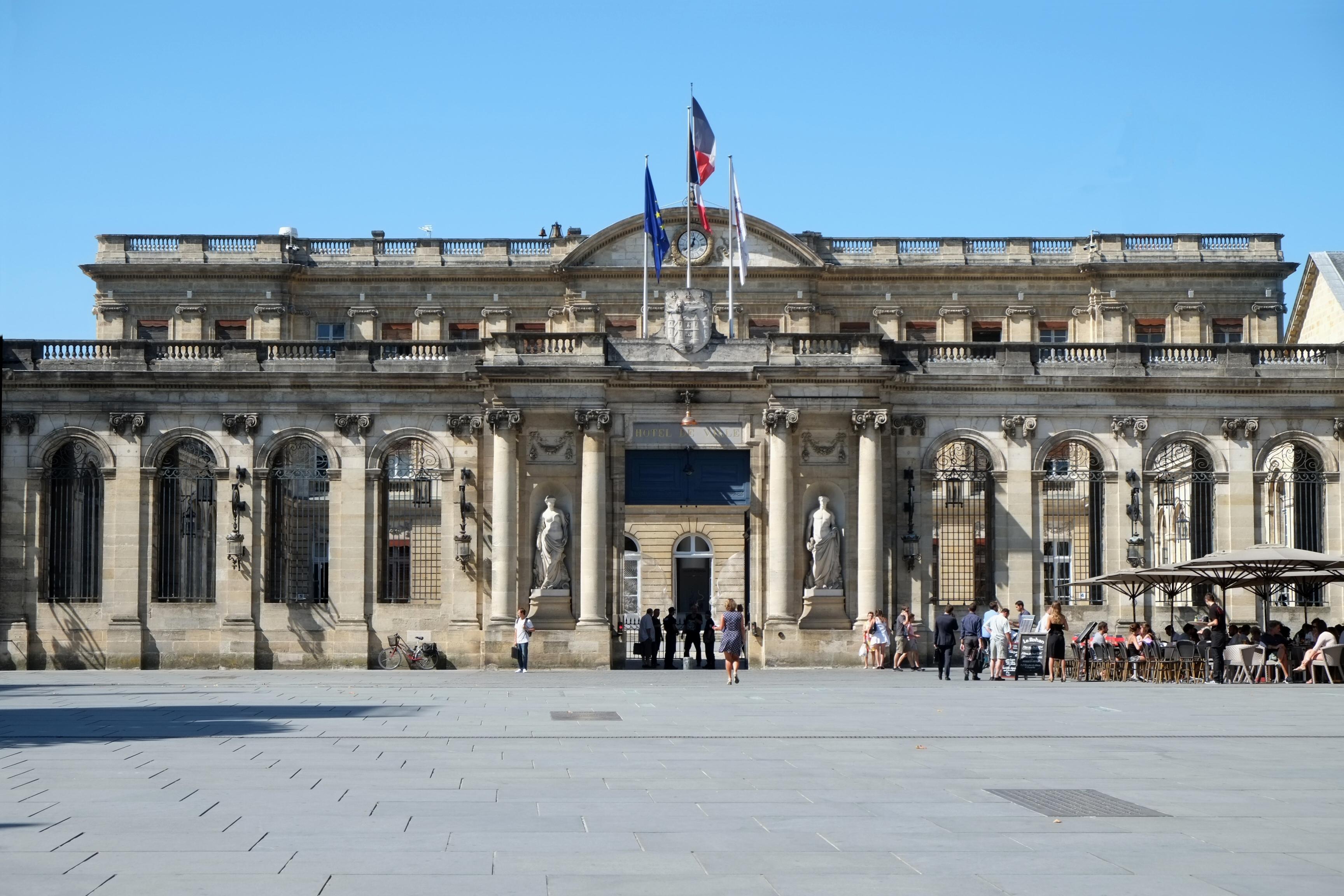 Centre Ville Bordeaux Carte